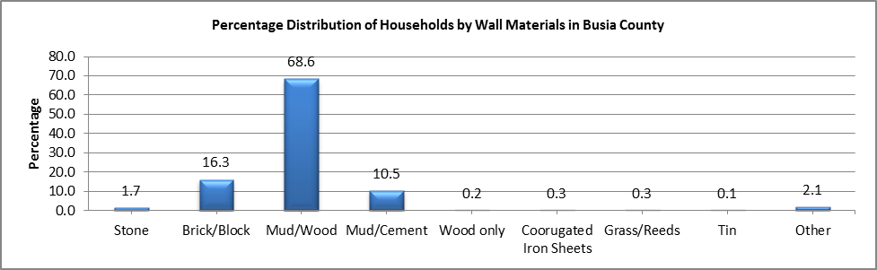 Busia - Wall materials