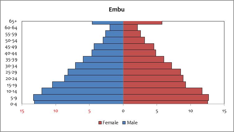 Embu - Population