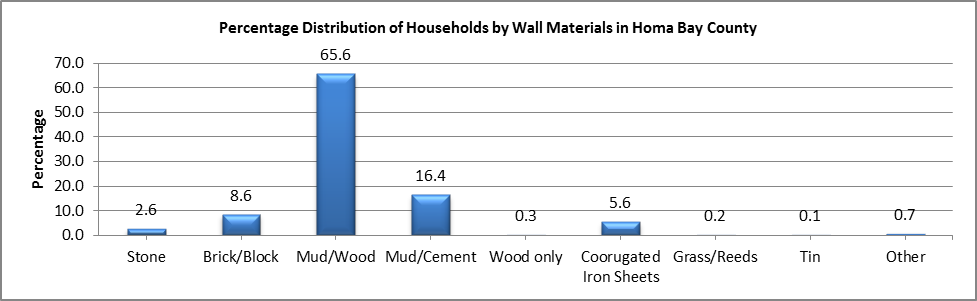 Homa Bay - Wall Materials