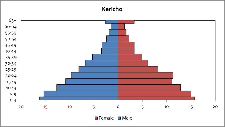 Kericho - Population