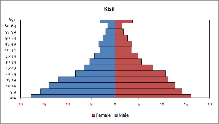 Kisii - population