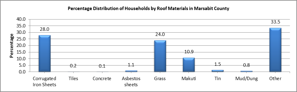 Marsabit - Roof Materials