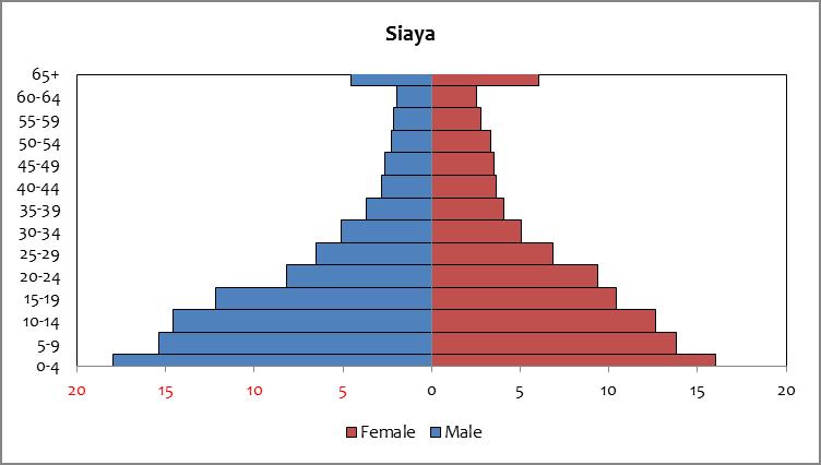 Siaya - population