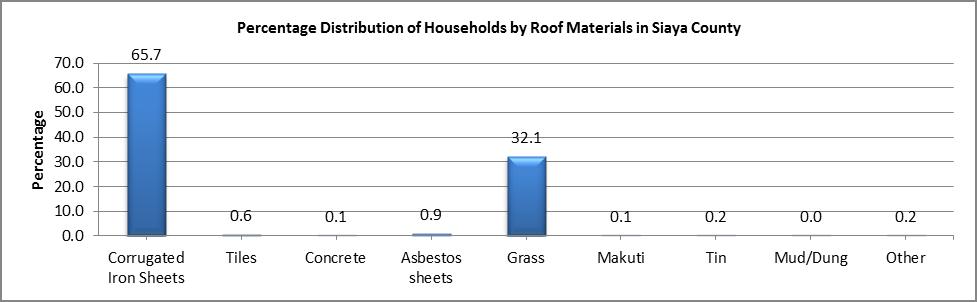 Siaya - Roof Materials