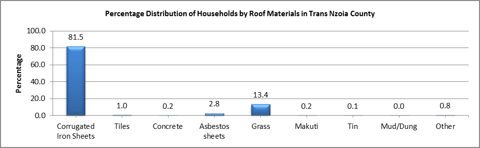 Trans Nzoia - Roof Materials