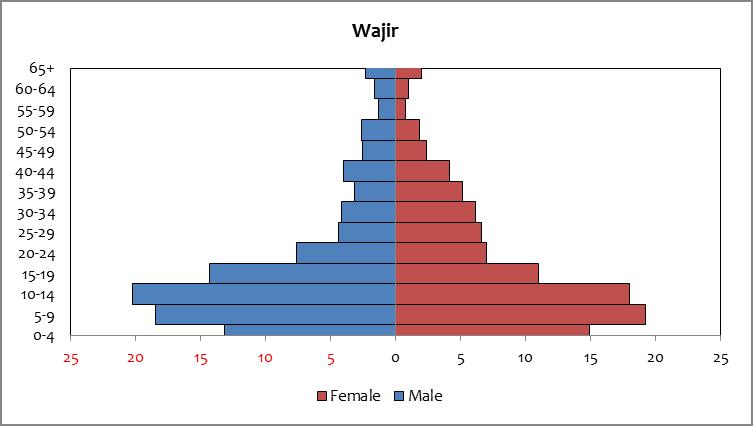 Wajir - population