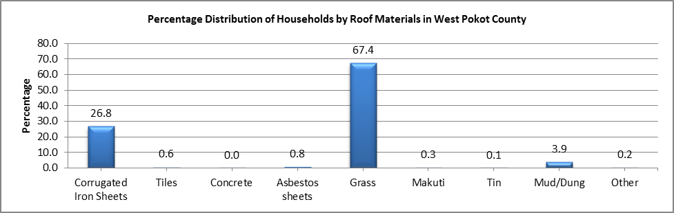 West Pokot - Roof Materials